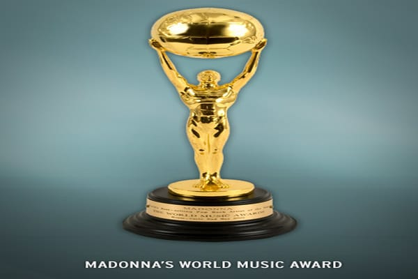 She earned the 2001 award for the best-selling pop-artist. It was sold at auction for $18,000 in August of 2008.