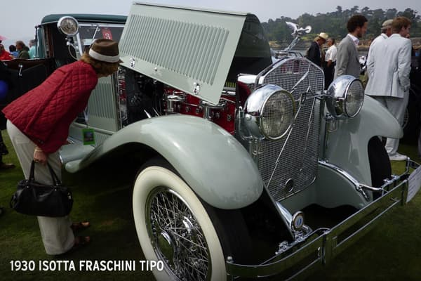 This was introduced in 1924 and has a larger, more powerful engine than its previous model. This car, which was also on display at the Pebble Beach Concours d' Elegance, is considered priceless