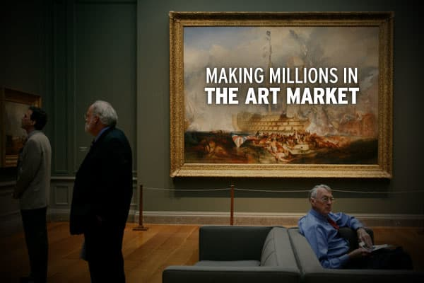 Have a few million dollars to spend? Want to see it experience 21% annual growth? How about 900% growth over a ten- year period? Try the art market.According to ArtPrice.com, pieces from the 15 highest-selling artists have totaled $527,556,988 thus far in 2009. Works by those artists have posted average annual growth of 151.47% since 1999. The S&P 500 is down 23.5% during that time. The best selling artists are listed here by absolute value of 2009 auction sales, but pay close attention to how t