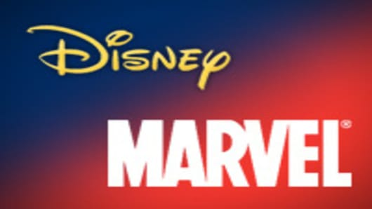 Disney & Marvel logos