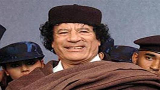 President Moammar Gadhafi of Libya