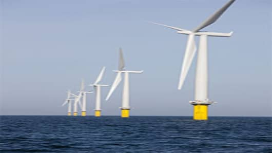 Dong Energy wind turbine