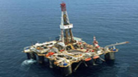 off shore oil rig