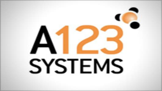 A123 Systems logo