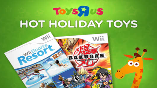 What will Santa have in his bag this holiday season? Toys 'R Us, the largest U.S. toy retailer, has issued its forecast for the hottest toys.With consumers still watching their spending carefully, one theme that stands out  is a focus on value. Toys on the list range from $10 (squeaking Zhu Zhu interactive hamsters )  to about $350 (Disney 's Netpals netbook computer). Click ahead to see which toys made the cut.
