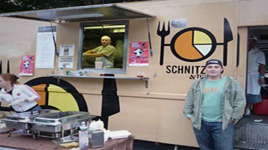 Schnitzel Cart