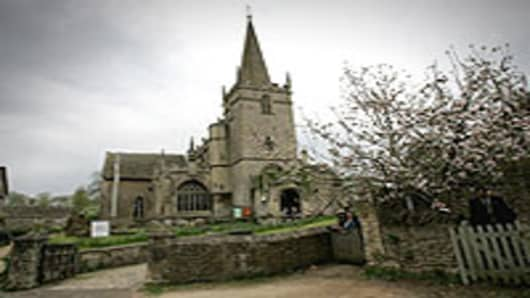 St Cyriac's Church, in Lacock, UK
