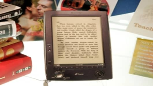 Sony E-Reader, Electronic Book