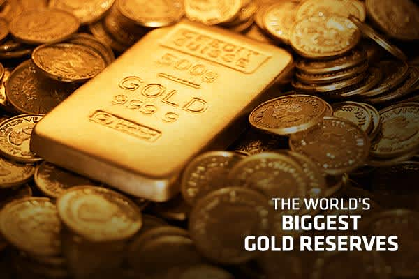 Photo: Gazimal | Getty ImagesNote: Gold holdings are converted to US short tons at a rate of 1 T = 1.102311 US tons. All monetary estimates are calculated at the rate of 1 troy ounce of gold = US$1,600. The CME lists gold contracts in troy ounces.