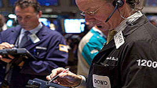 Traders at the New York Stock Exchange.