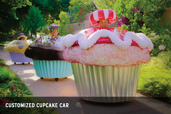 Price: $25,000Want a gift with a little whimsy? Perhaps the customized Cupcake Car is for you. Launched at Burning Man as a cooperative art car project, these Cupcake Cars were whipped up by Bay Area artist Lisa Pongrace. Powered by a 24-volt electric motor and heavy-duty battery, this car can be decorated with your favorite cupcake toppings. So sprinkles or candy mints?