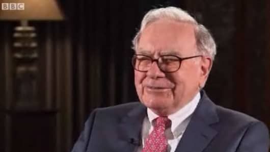 Warren Buffett, as seen in a new BBC television program titled