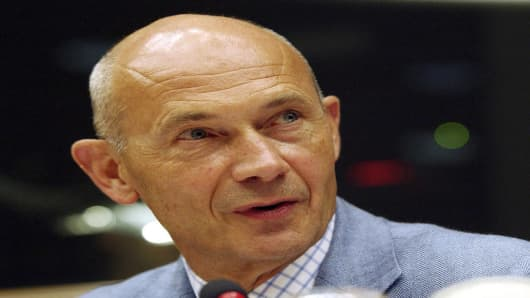 World Trade Organization Director-General Pascal Lamy.