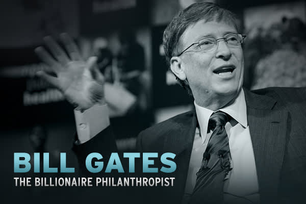 Business mogul, chairman of Microsoft, author, philanthropist, William Henry Gates III, more commonly known as Bill Gates has left a mark in history.  Gates is most noted for being the co-founder of the software company Microsoft and recently for being named 2009's Richest Person in America by Forbes Magazine.  With all of these achievements under his belt Gates is using the second half of his life to give back to the world.  His philanthropy work has taken his accomplishments to a new level.Cli