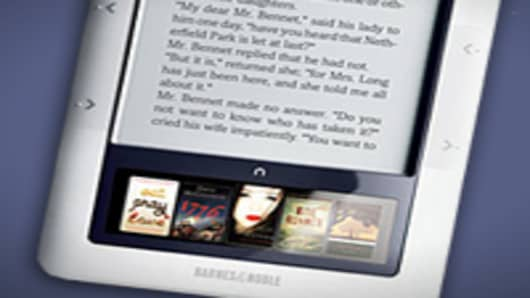 The Nook e-reader
