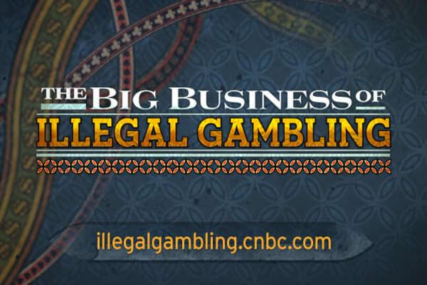 Illegal gambling business casino map in las vegas