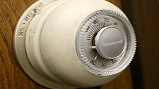 Honeywell model T87 thermostat