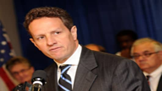 United States Treasury Secretary Timothy Geithner