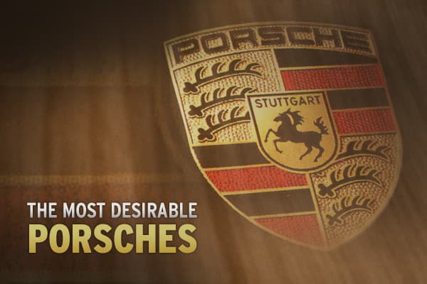 "Over the years, Porsche has assembled some of the most coveted sports cars in the world. Built on the founding family's name, Porsche is now a multibillion dollar corporation creating high-performance luxury cars known for their speed and style.  Here, internationally recognized Porsche historian sifts through these amazing automobiles and chooses some of the most desirable and rare Porsches ever made. What are the most desirable Porsches? Click ahead to see Raskin's picks! ""Fast Bucks: How Pors"