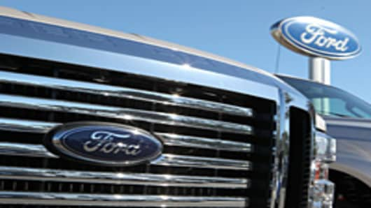 Ford truck grille