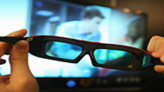 3D glasses for television