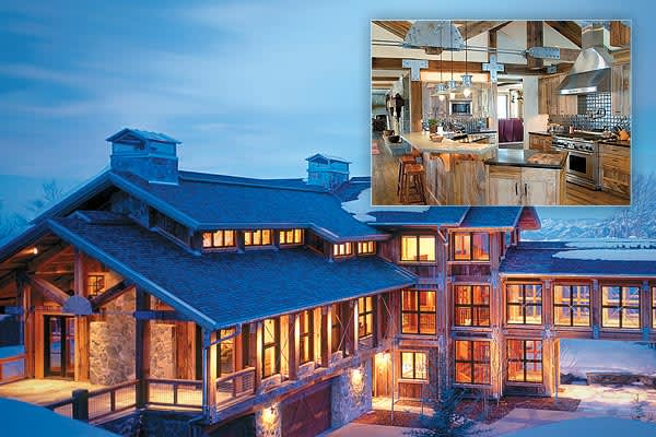 "List Price: $11.95 millionSize: 16,695 sq ftBedrooms: 7Bathrooms: 11, 4 halfAlso in Park City, this home offers a 360 degree view of the surrounding mountain peaks and canyons marking the area and also features an additional 2 bedroom guest house for additional privacy. The home features a balcony, several decks, a heated driveway, spa, hot tub and sauna. The home also has the distinction of being Mountain Living Magazine's ""Top Pick"" for Utah."