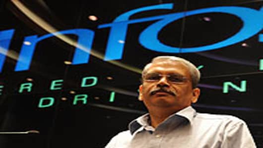 Infosys Technologies CEO Kris Gopalakris