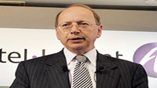 Alcatel-Lucent Chief Executive Ben Verwaayen