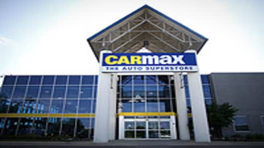 Carmax retail store in Naperville, Illinois.