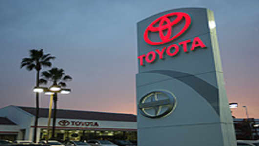 Tustin Toyota dealership in Tustin, California.