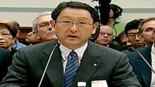 Toyota Motor Corporation President Akio Toyoda