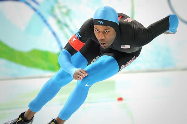 Davis came through by successfully defending his 1000 meter speedskating gold from Torino. Like Torino, he also picked up the silver in the 1500. As the first African-American to win Winter games gold, Davis -- who does have a deal with Nike -- could be more marketable, but the bottom line is that he chooses not to be.