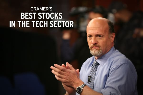 "These 14 stocks could be some of the Nasdaq's best buys for 2010 and beyond.The smartphone revolution will drive tech's growth for the foreseeable future, Cramer has said time and again. Consumers want what they want when they want it, and all-in-one handsets – complete with voice, video and data capabilities – are bringing their entire lives to the new ""small screen."" The Mad Money host has gone so far as to call this ""the biggest secular growth trend of my life."" So anyone who wants to play th"