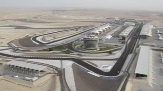 Formula 1 track, Bahrain