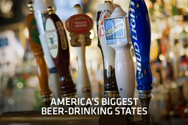 Can you guess which US state holds the title of beer-drinking king? To be the biggest beer drinking state, each individual resident or legal age must drink more than their fair share., a Beer industry public policy group, compiles a report of annual statistics on beer consumption and production across the United States. The yearly report includes state-by-state per captia consumption figures, which calculates average consumption by comparing individuals of legal drinking age (aged 21 and over) t
