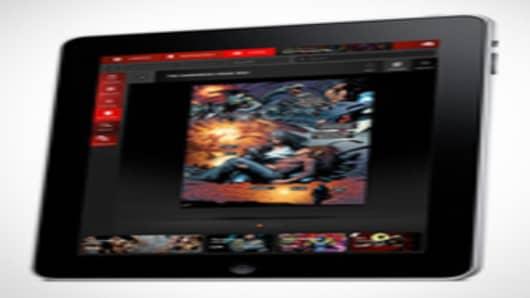 iPad with Panelfly App