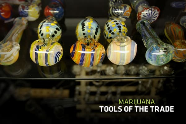 "Although the recreational use of marijuana is essentially illegal in the United States, about one in ten Americans light up at least once each year. Marijuana users experience the drug in a variety of ways, and various ""tools of the trade"" exist to facilitate consumption. Whether one is smoking, preparing or growing marijuana, methods for handling the drug have evolved largely from the use and horticulture of tobacco. The Drug Enforcement Agency, DEA, states that in general, it is ""unlawful for"
