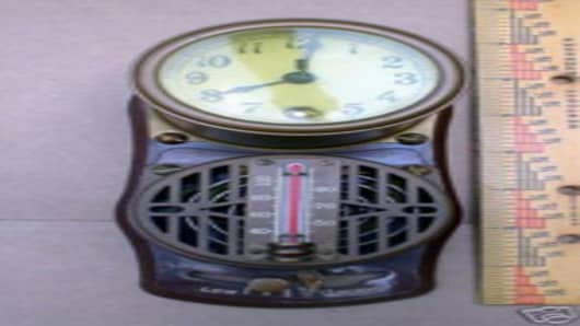 Honeywell's thermostat from 1906.
