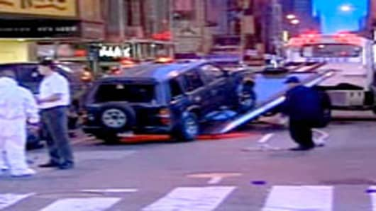Times Square bomb scare