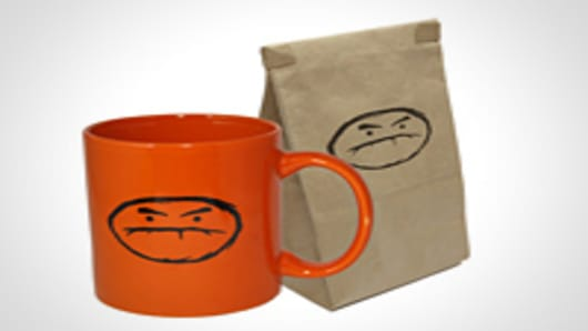 Café Grumpy mug and coffee combo