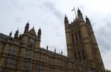 The Palace of Westminster, home of the UK Parliament in London.