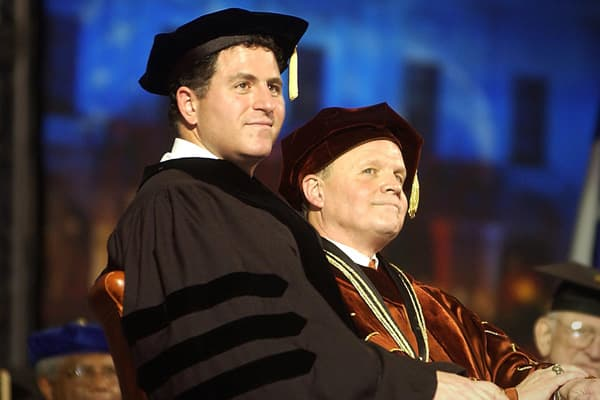 "University of Texas at Austin (2003)Michael Dell, who founded Dell Computers with $1,000 and the idea to sell computers directly to customers, says there's not much to learn from success. ""As you start your journey, the first thing you should do is throw away that store-bought map and begin to draw your own … ""[D]on't spend so much time trying to choose the perfect opportunity, that you miss the right opportunity. Recognize that there will be failures, and acknowledge that there will be obstacle"