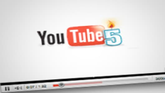Youtube celebrates 5 years.