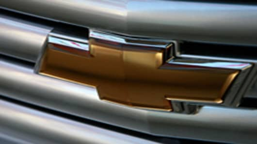 Chevrolet grille