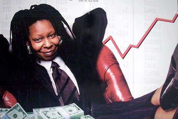 Domestic Total Gross: $12.84 millionWorldwide Gross: N/AOpening Weekend: $4.26 millionWhoopi Goldberg stars as Laurel Ayers, a smart investment banker who realizes the only way to make it on Wall Street is to disguise herself as a white man.  She starts her own investment firm as Robert Cutty and finds herself in a series of ordeals where she proves to her former colleagues that internal attributes are more important than external ones.Goldberg starred in five films that were released in 1996-Gh