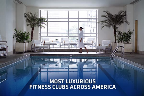 With 30,000 health clubs across the country, Americans have their pick of where to work out. Some fitness clubs, however, are simply a cut above the rest. The country's most luxurious and exclusive fitness clubs are more like health oases, where you might find Olympic-size pools, indoor tennis courts, private changing cabanas, steam rooms, celebrity trainers and even retinal identification scanners. The price of entry to most of these health sanctuaries is steep, with the combination of initiati