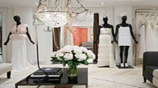 J. Crew's bridal store.