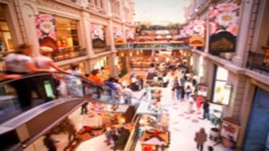 Galerías Pacífico shopping mall in Buenos Aires, Argentina