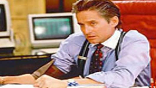 Gordon Gekko from Wall Street