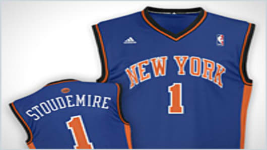 Amar'e Stoudemire New York Knicks jersery